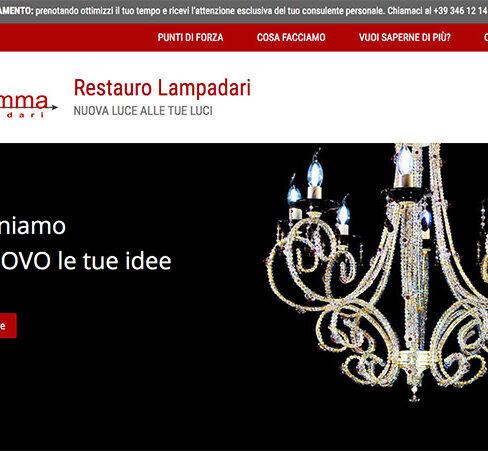 restauro lampadari sito internet